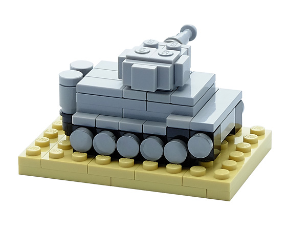 lego ww2 moc instructions