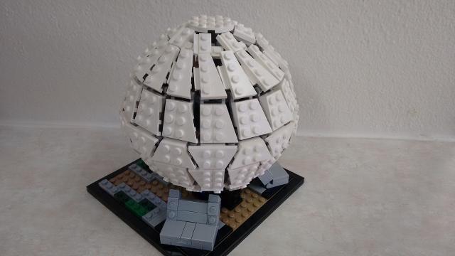 lego earth globe instructions