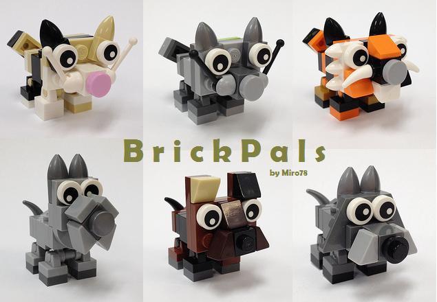 Friends Lego Cat Dog