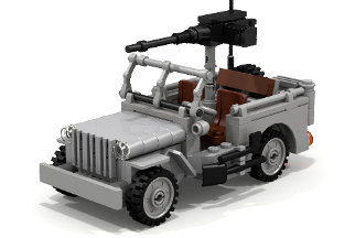 Willys MB U.S. Army Jeep (v2.0)