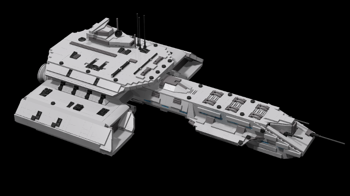 Stargate Daedalus From Bricklink Studio