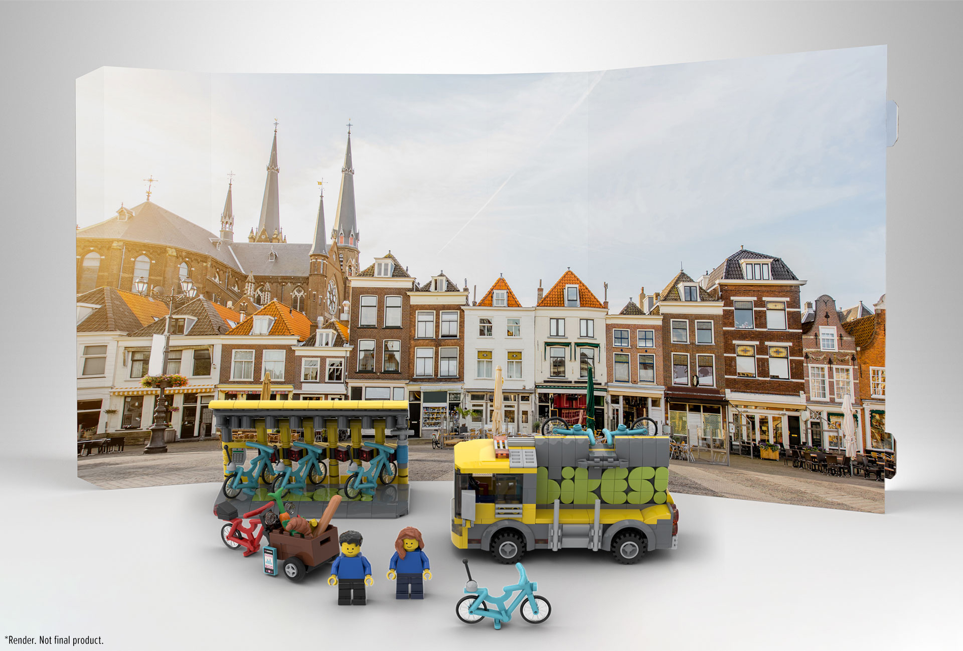 Bikes!] A clean mode of transportation for your LEGO cities ...