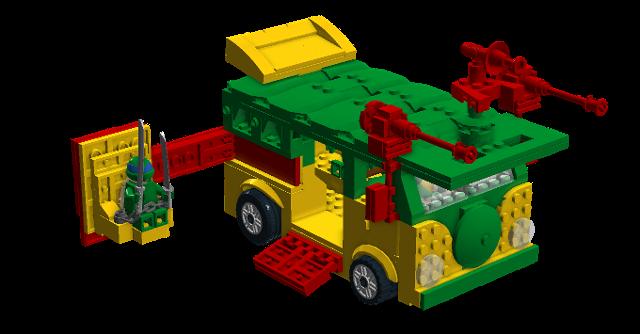 Turtles Party Wagon
