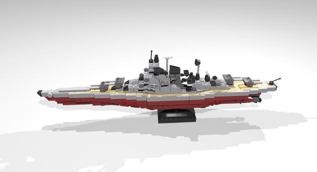 lego space battleship yamato instructions