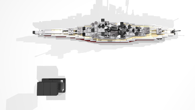 Tirpitz Microscale Wwii Battleship