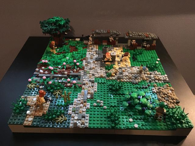 Lego Star Wars MOC: Imperial Bunker on Adumar