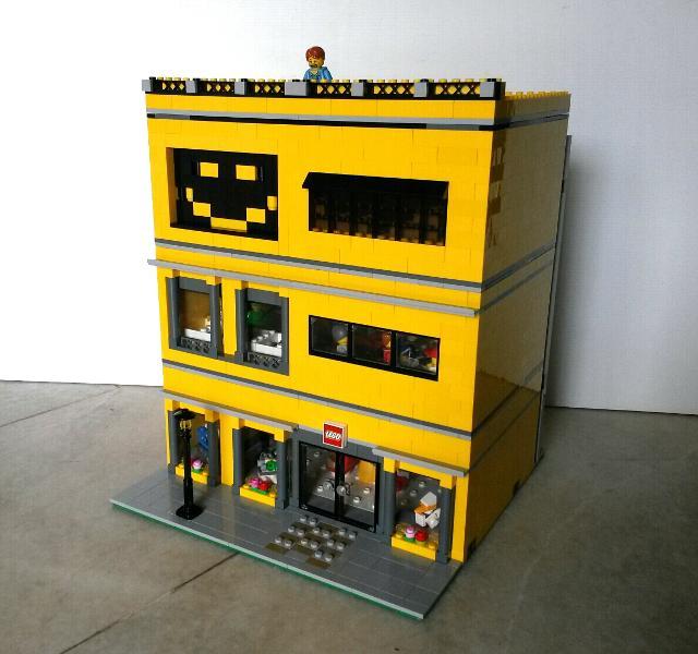 Lego Store Minifigure Build