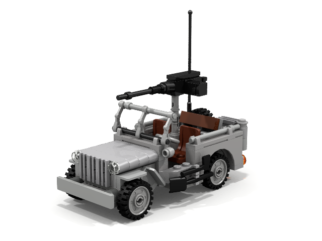 Willys Mb Us Army Jeep V20
